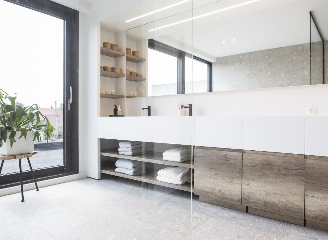 Badkamer Op Maat : Badkamer op maat naert bvba